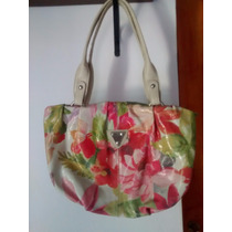 Cartera Simil Cuero Estampada