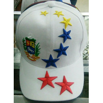 Gorra Venezuela, Vinotinto, Tricolor