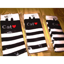 Calcetas Para Niñita Cat Kawai
