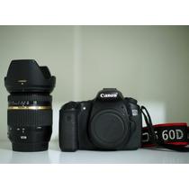 Canon 60d,tamron 17-50 2.8 Vc, 3 Baterias Leiam A Descricão