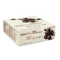 Thinkthin Alta Barras De Proteína Brownie Crunch 2.1 Onzas (