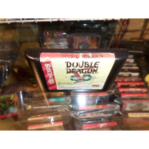 Double Dragon V Sega Genesis Cartucho