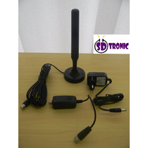 Antena Interna P/tv Digital Mdtv-400b 25 Dbi(amplificada)mxt