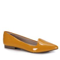Sapato Slipper Feminino Pensatto - Amarelo