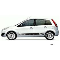 Kit Faixa Lateral Fiesta Adesivo Hatch Sedan Acessórios