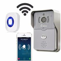 Campainha C/ Camêra Wifi/ip/sensor/aplicativo P/ Smartphone