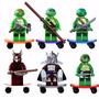 Kit 6 Lego Tartarugas Ninjas Compatível ***promoção***