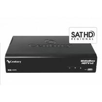 Receptor Digital Century Midiabox Hdtv B2 - Sat Hd