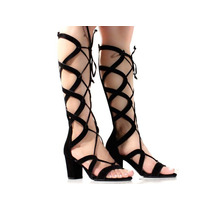 Sandália Gladiadora Di Cristalli 9866018 Pixolé Calçados