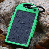 Cargador Solar Portatil Power Bank De 5000 Mah Envio Gratis