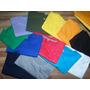 Franela Unicolor Talla 16,s, M Y L Algodon100% Mayor Y Detal