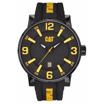 Reloj Cat Nj.161.21.137 Negro Con Amarillo Caballero