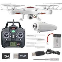 Dron Cuadcoptero Con Camara Luz Led Nuevo ¡xyma X5c Upgrade!