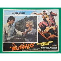 Jorge Rivero El Payo Nadia Milton Original Cartel De Cine