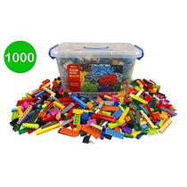 Cubo De Ladrillos De Construcción - Bloques Granel 1000 Pc C