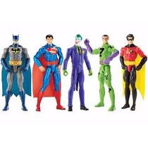 Bonecos Batman Superman Coringa Mattel