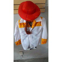Disfraz Jessy Toy Story Vaquerita Sombrero Trenza Mayoreo