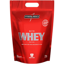 Nutri Whey Protein Refil (1,8kg) - Integral Medica-chocolate