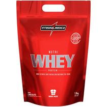 Nutri Whey Protein Refil (1,8kg) - Integral Medica-chocolate