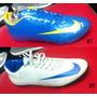 Zapatos Nike Mercurial, En Suela Lisa Y Micro Taco!!