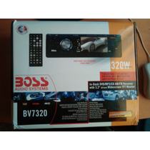 Reproductor De Carro Cd/dvd/mp3 Y Pantalla Boss Bv7320 320w