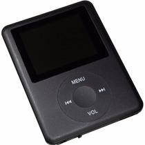 Mp4 Player Mp3 Fm Video Gravador De Voz Lcd Fotos + Fone