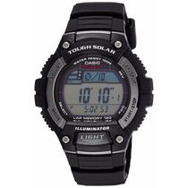 Reloj Casio W-s220-1avdf 50mm 5 Alarmas Acuático Luz Led