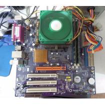 Kit P4 Intel Mb + Processador + Memoria +hd Ide 40g