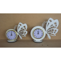 10 Souvenirs Reloj Mariposa-gatos-luna Cumpleaños