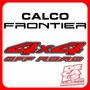 Calcomania 4x4 Off Road Nissan Frontier