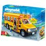 Combi Bus Escolar Con Luz Muñecos Playmobil Palermo Z Norte