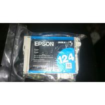 Cartucho Epson 124 Cyan