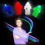 Kit 40 Leds De Dedo Laser Finger Beams Festa Dj Iluminação