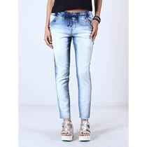 Calça Jeans Jogger Feminina Denuncia