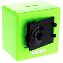 Alcancia Caja Fuerte De Combinacion Color Verde H8048