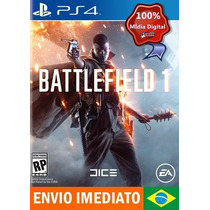 Battlefield 1 Português - Br [* Original - 1ª - Jogos Ps4 *]