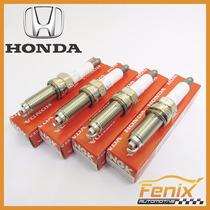 Jogo Vela Honda Hr-v 1.8 Flex Silzkr7c11ds Iridium
