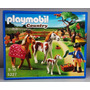 Playmobil Paddock With Horses And Foal Modelo 5227