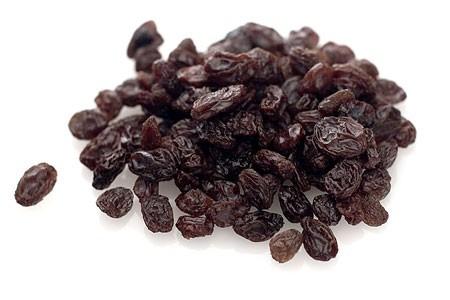 pasas de uva sin semilla