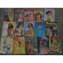 Coleção 15 Revistas Histórias Em Quadrinhos Eróticos Diverso