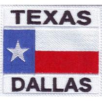 Top Gun Topgun Parches Bordados Militar Texas Dallas Bandera