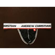 Cueca Jockstrap Fio - Andrew Christian - Suporte Atlético