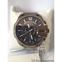 Relógio Masculino Diesel Mega Chief Dz4329 Lindo Luxo Social