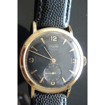 Reloj En Oro Suizo Enicar Año 70 Vintage 17 Rubis A Cuerda