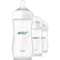 Set De 3 Teteros Natural De 11oz / 330ml Philips Avent