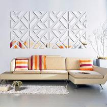 Espelho Decorativo Acrílico 1,60x0,40m Sala Quarto Painel Tv