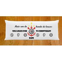 Fronhas Personalizadas Dupla Capa Travesseiro De Corpo Times