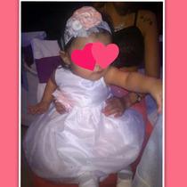 Vestido Fiesta Cortejo Bautismo Primer Añito Beba Nena Leer
