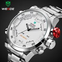 Relógio Sport Digital E Analógico Led Alarme Weide Wh2309