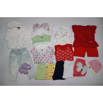 Lote 36 - Roupa Bebê Menina - Tam Rn/p (20pçs)